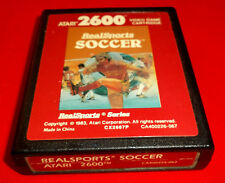 REAL SPORTS SOCCER Atari Vcs 2600 ○ SOLO CARTUCCIA