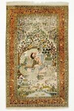 Tapis persans à motif Médaillon pour la maison en 100% laine