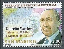 2008 SAN MARINO CONCETTO MARCHESI MNH ** - ED