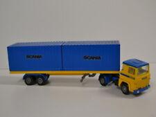 Tekno LKW Truck 1:50  - Scania 141  Zugmaschine Metall - Container Sattelzug