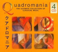 QUADROMANIA THE ULTIMATE COLLECTION CD NEW STRAUSS MOZART BEETHOVEN BACH ETC