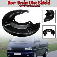 Per VW T4 Transporter 7D1615611 Nero Disco Posteriore Freno Supporto Protezione