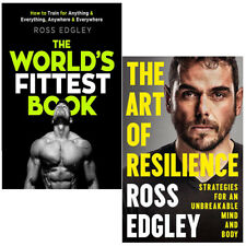 Ross Edgley The World's & The Art of Resilience 2 Books Collection Set PB NEW