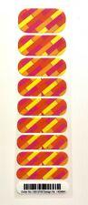 Jamberry Nail Wraps - HALF SHEET - NAS Nail Art Studio Orange Pink Yello
