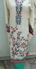 summer collection new print  design  lawn cotton pant kameez Size  L42