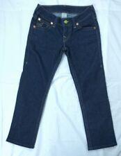 True Religion Brand Womens Denim Jeans Straight leg Dark Wash Blue Size 29