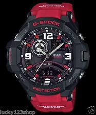 GA-1000-4B Red  Casio Watch G-Shock Analog Digital Compass 200M-WR Resin Band