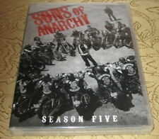 Sons of Anarchy Season Five DVD 2013 4-Disc Set Factory Sealed New in Case