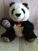 "Steiff Manschli Panda Bear Plush Toy 12"""