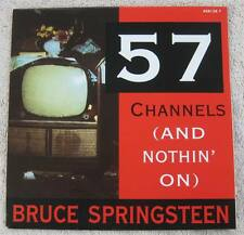 "Bruce Springsteen - 57 Channels (2 Versions) - Dutch Picture Sleeve PS 7"" single"