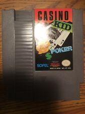 Casino Kid (Nintendo Entertainment System, 1989) NES Poker Blackjack