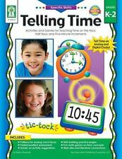 Telling Time Grades K - 2:Activities and Games for Teaching Time on the Hour..