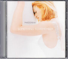 CD 14T MADONNA SOMETHING TO REMEMBER best of DE 1995