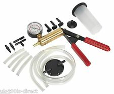 Hand Held Brake & Clutch Bleeder Tester Set Bleed Kit Vacuum Pump Car Motorbike