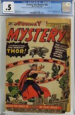 JOURNEY INTO MYSTERY #83 CGC .5 1ST THOR AFFORDABLE COMPLETE COPY