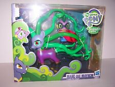 2014 MY LITTLE PONY - MANE-IAC MAYHEM & SPIKE THE DRAGON NEW IN BOX
