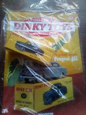 "DINKY TOYS PEUGEOT 403 SCALA 1/43 - DE AGOSTINI 15 ""E"""