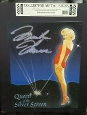 Marilyn Monroe Queen of the Silver Screen Poster Metal Tin Sign Paintings  Bar
