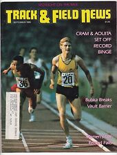 1985 Track and Field News Mile Steve Cram Said Aouita Sergey Bubka Mary Decker