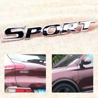 3D SPORT Logo Car Sticker Emblem ABS Plating Chrome Door Rear Trunk Badge Newly