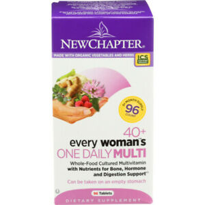New Chapter Every Woman's 40+ One Daily Multi Vitamin 96 Tablets EXP 02/21+