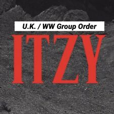 Kpop ITZY Official Not Shy Album UK/WW Album Group Order