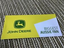 AGRICULTURE MACHINERY STICKER , JOHN DEERE, TRACTORS MOWERS CONSTRUCTION ENGINE
