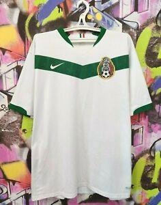 Mexico Soccer National Team 2006 2007 Away Football Shirt Jersey Nike Mens XXL