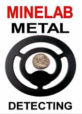 MINELAB METAL DETECTING KEYRING -DETECTOR KEYRING, GREAT GIFT IMAGE SIZE 5 x 3.5