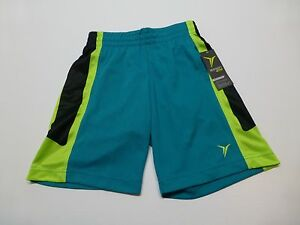 Old Navy Shorts Active Boys Size XS (5) Green & Black Athletic Shorts New