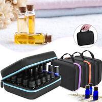 30 Grid ätherisches Öl Tragetasche Halter Aromatherapie Box Set 5ML~15ML Licht