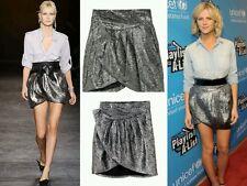 Isabel Marant for H&M silver mini skirt BN UK 12