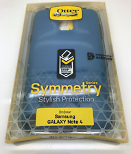 Otterbox Symmetry Case Samsung Galaxy Note 4 Blue Print