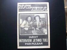 Magazine Revue Rock Hebdo N°5