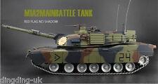 Heng Long 1:16 ABRAMS M1A2 RC TANK 2.4GHz Platinum Versione Mimetica NATO UK 3