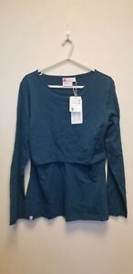 BREASTFEED WITH CONFIDENCE ORGANIC COTTON LONG SLEEVE SHIRT,SIZE 16, NEW ## (BB)