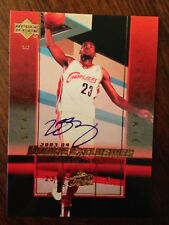 REPRINT 2003 Upper Deck Rookie Exclusives Lebron James REPRINT Autograph Auto A1