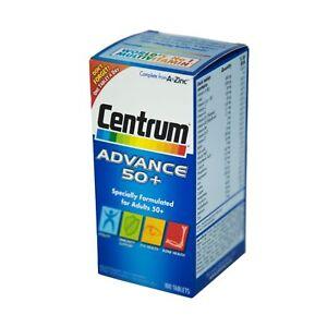 CENTRUM ADVANCE 50+ A To Z Multivitamins Minerals Adult Formula 100 Tablets