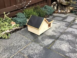 Hedgehog House Wooden Handmade Hibernation Home