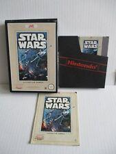 Nintendo NES Jeu Star Wars JVC + neuf dans sa boîte + notice