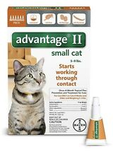 New listing Advantage Ii for Small Cats 5-9 lbs - 6 Pack - Epa Approved / Free Shipping!