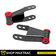 "MaxTrac 2"" Rear Drop Shackle Lowering Kit 410520 For 1988-2018 GMC Sierra 1500"