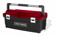 Craftsman 26 Inch Tool Box with Tray - Black/Red New