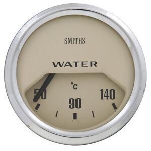 Classic Mini Electric gauge 52mm - Water temperature °C - Magnolia 1959-2000