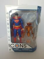 DC Comics DC Icons Superman: The Man of Steel Action Figure New