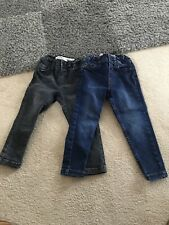 Boys Denim Co Jeans Bundle Skinny 2-3 Years Black And Blue