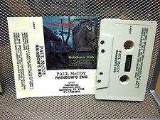 PAUL McCOY Rainbow's End cassette tape Hammered Dulcimer & Musical Saw