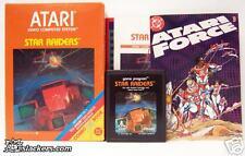 Star Raiders (Atari 2600) NICE & COMPLETE W/ DC COMIC!!