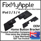 iPad 2 3 4 OEM Home Button Bracket Metal Holder Gasket Inner Plate Replacement
