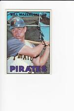 1967 Topps #510 Bill Mazeroski Pirates EX/NM